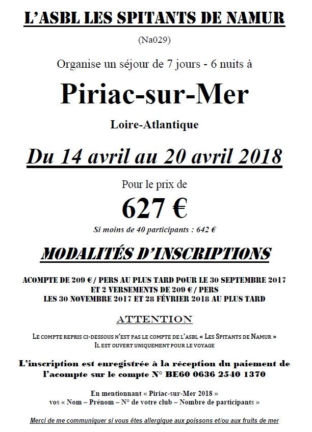 Voyage a piriac